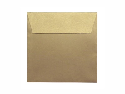 ENVELOPE METALIZADO OCRE